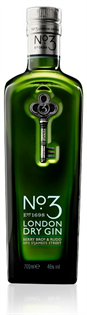 No. 3 Gin London Dry 750ml